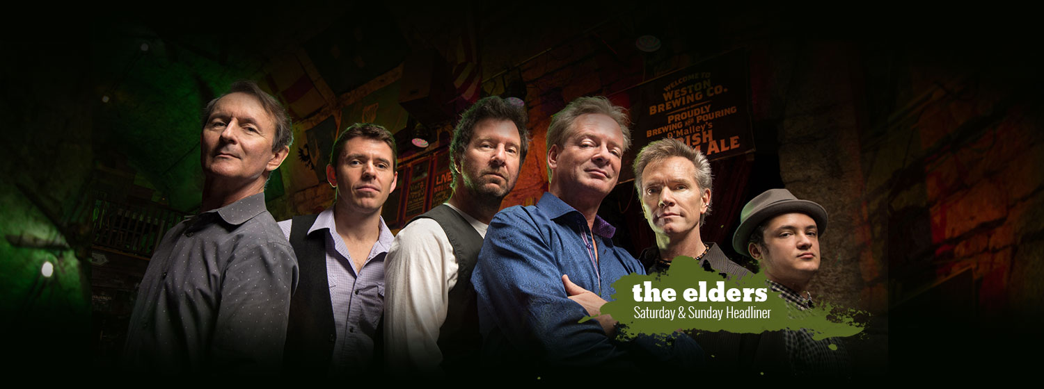 The Elders - Saturday & Sunday Headliner